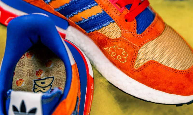 dragon ball adidas goku