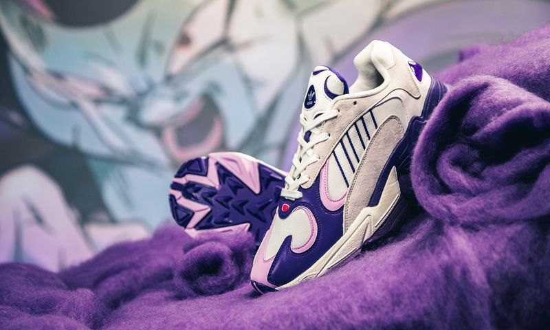 quality design 767f0 cda14 Dragon Ball Z and adidas Originals are collaborating on a saga series  highlighting key characters. For September, the Frieza Saga will kick off  with both ...