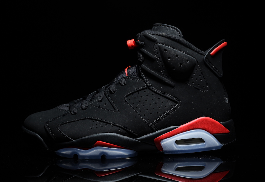 4d7bcc0363cf6e Air Jordan 6. Color  Black Infrared Style Code  384664-060. Release Date  February  16