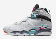 "9eb926eea0abe4 Air Jordan 8 ""South Beach"" Release Date"