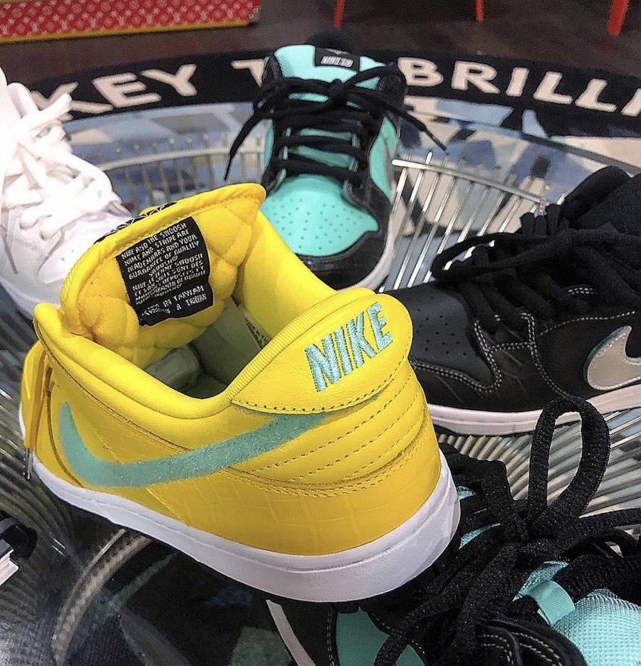 sports shoes e50d2 cbe74 Diamond Supply Co. x Nike SB Dunk Low Collection