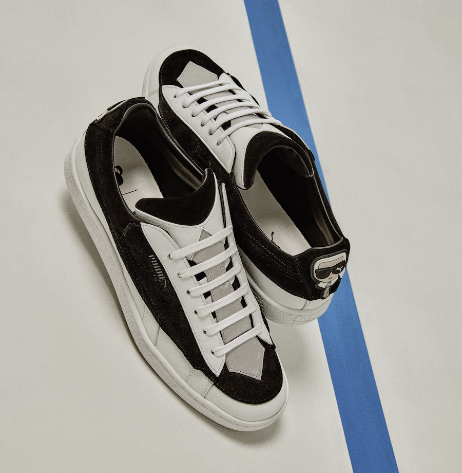 Karl Lagerfeld x PUMA Suede Collection