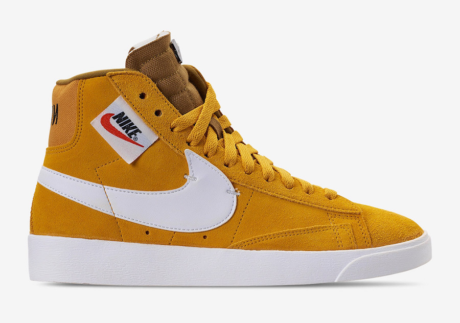 "finest selection 5e5c6 44704 Nike Blazer Mid Rebel in ""Habanero Red"" and ""Yellow Ochre"""