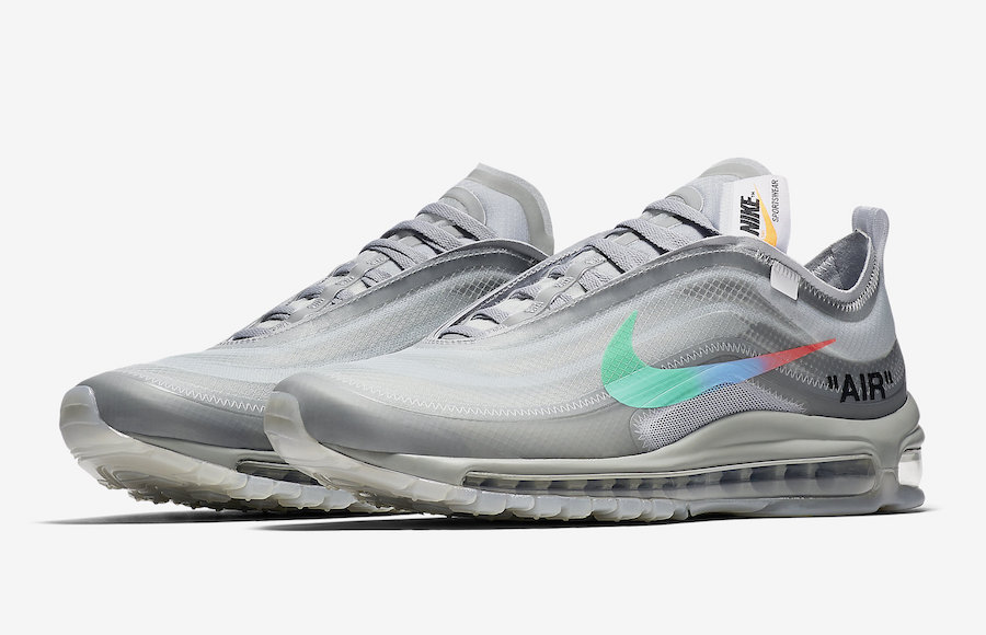 "43664b4fd26 The Off-White x Nike Air Max 97 ""Menta"" is set to release on November 10th  at select Nike Sportswear retailers and StockX with the retail price tag of   190 ..."