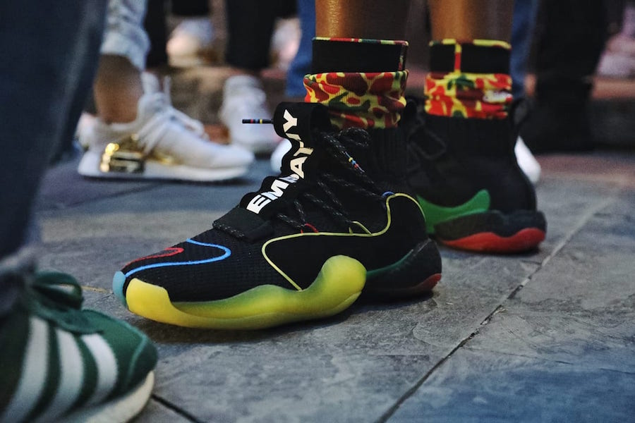 bba7b29e1 Pharrell Williams debuted a never-before-seen adidas Crazy BYW X while he  was in China earlier this year.