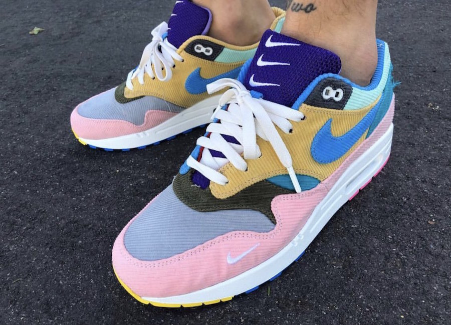 the best attitude 49cdd 93801 Sean Wotherspoon Bespoke Air Max 1 With Hidden Floral Pattern