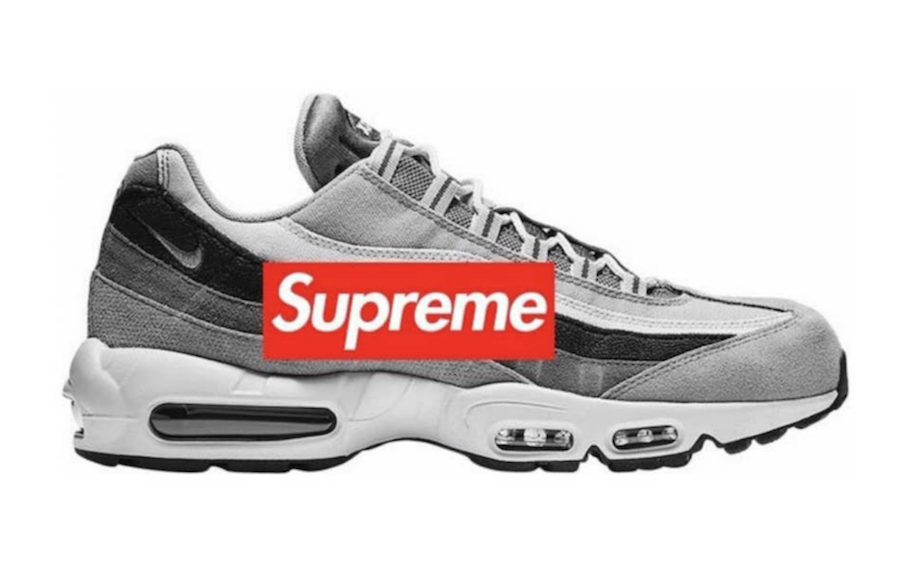 e4bc18c5d5 Nike and Supreme continue their collaboration with two new Air Max 95 color  ways for Spring/Summer 2019. Coming ...