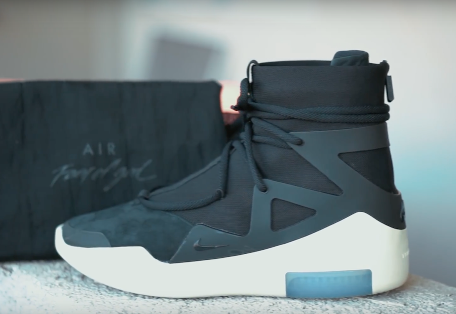 f19bf202ba Fear of God and Nike Basketball will be releasing the Black and Light Bone  colorway of the Nike x Fear of God 1 in December. The colorway will feature  an ...