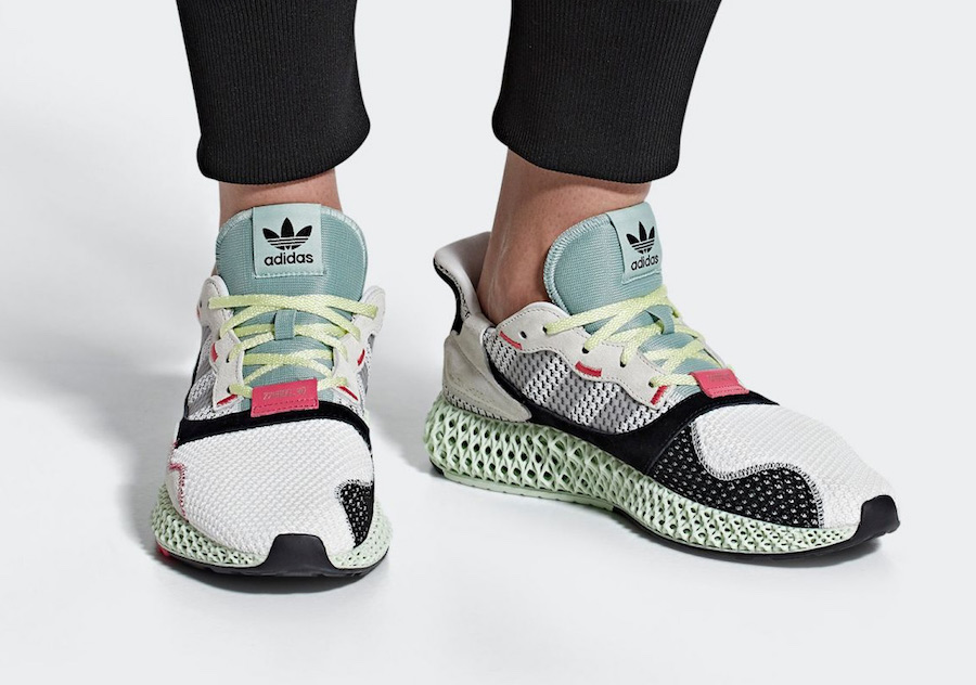 d58b3fb52 adidas sets to release their next 4D sneaker dubbed the ZX 4000 4D  featuring a 4D technology printed midsole.