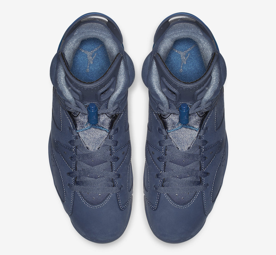 "d9fa14026e3 Air Jordan 6 ""Jimmy Butler"" Color: Diffused Blue/Diffused Blue-Court Blue  Style Code: 384664-400. Release Date: December 22, 2018. Price: $190"