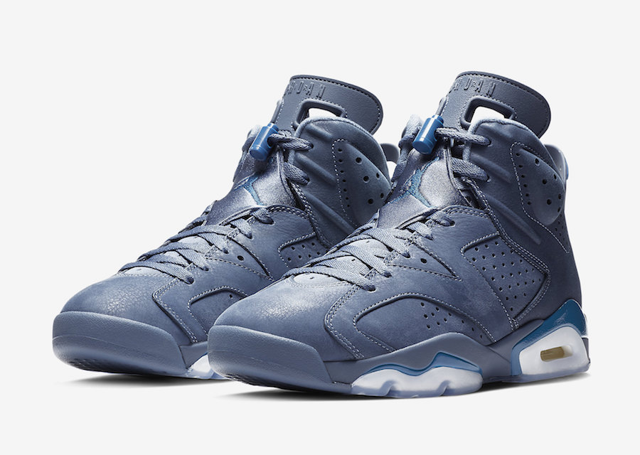 "45fd4327a6e939 Air Jordan 6 ""Jimmy Butler"" Color  Diffused Blue Diffused Blue-Court Blue  Style Code  384664-400. Release Date  December 22"