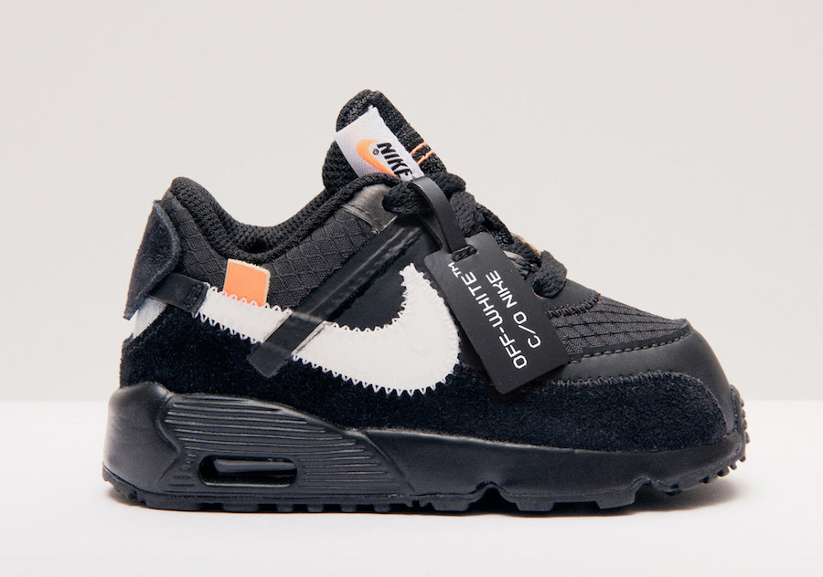47b18395 Off-White x Nike Air Max 90 Releasing in Kids Sizes