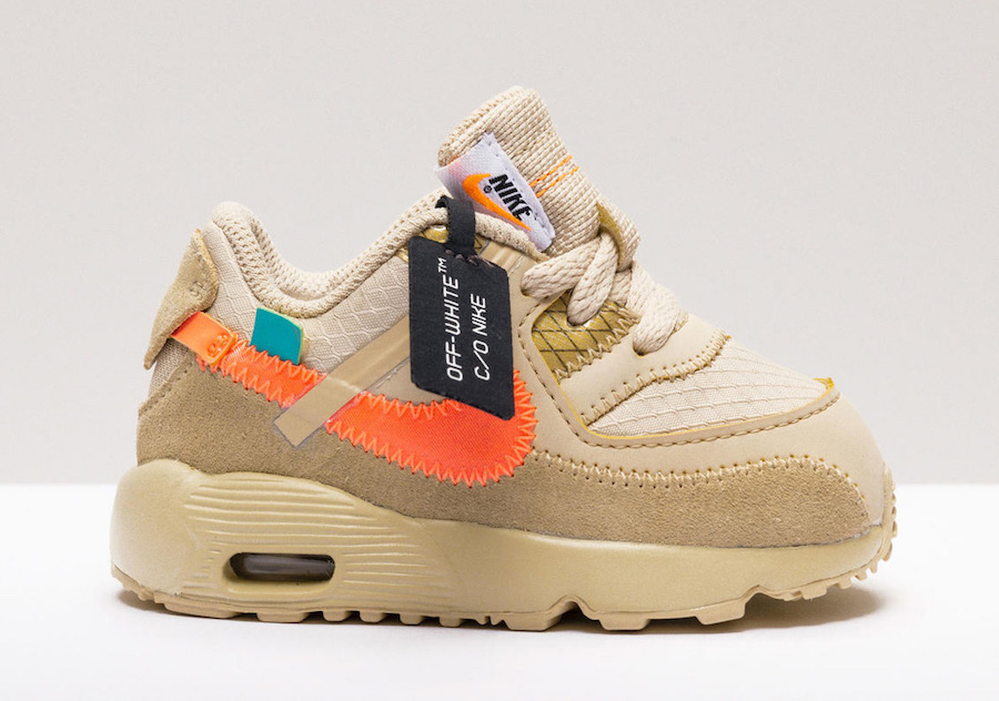 Off White X Nike Air Max 90 Releasing In Kids Sizes