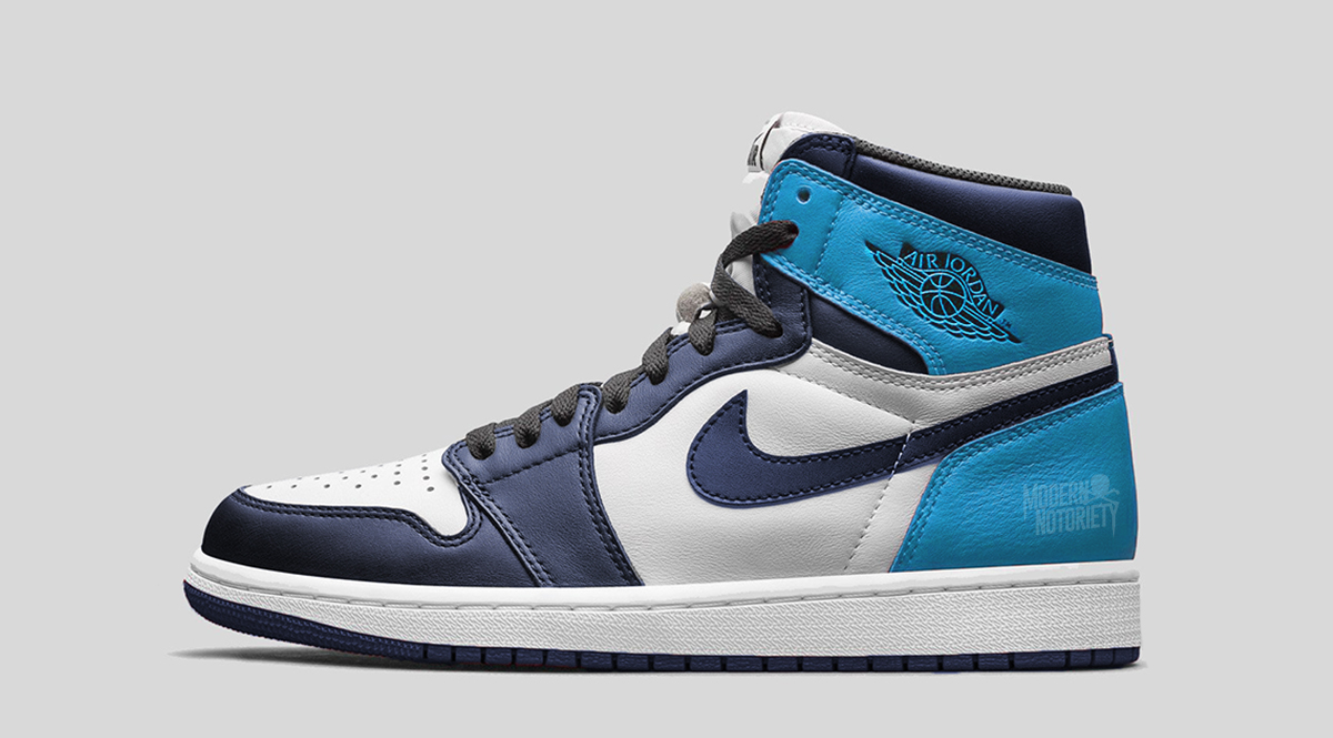 e3d521eafff43d Air Jordan 1 Retro High OG Color  Sail Obsidian-University Blue Style Code   555088-140. Release Date  August 17