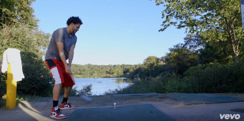 """7e2f384df29f ... J.Cole From His """"Love Yourz"""" Video. Lots of 2013 Chicago 1s"""
