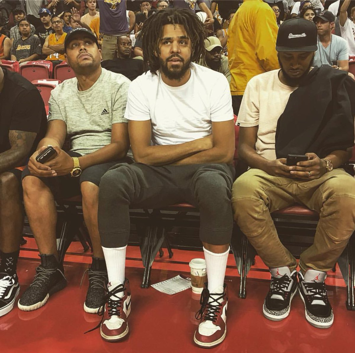 newest b1ca4 b46f9 ... J.Cole Court-side ...