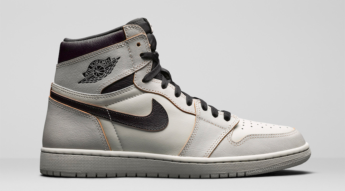 """size 40 f42b1 42ae4 Two Nike SB x Air Jordan 1 sneakers are set to release this year  the """"Light  Bone"""" and """"Lakers"""". Skaters have been skating in the Air Jordan 1 since its  ..."""
