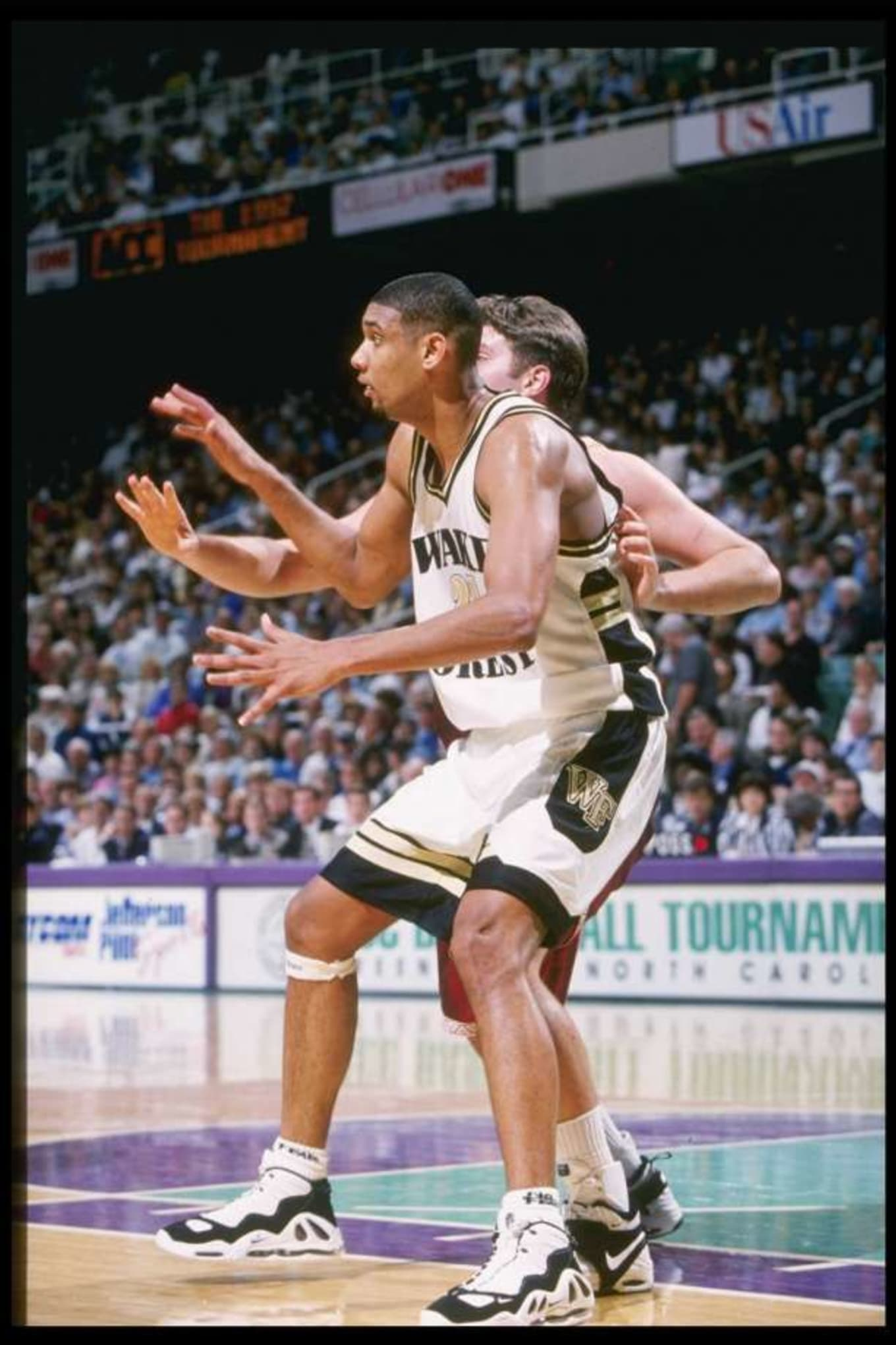 Tim Duncan in college