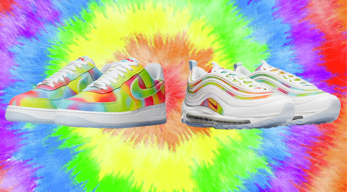 Nike Air Force 1 Chicago Tie Dye