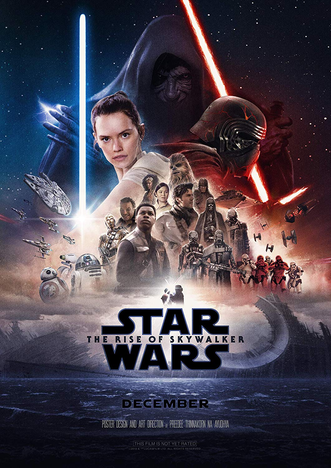 New Look At Star Wars The Rise Of Skywalker