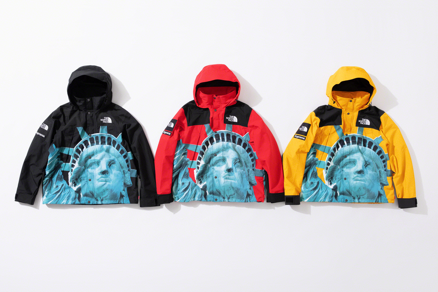 Supreme X The North Face Statue Of Liberty Series