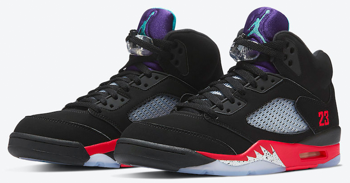 Competidores Se convierte en Puñalada  Official Look at the Upcoming Air Jordan 5 &\#8220;Top 3&\#8221;