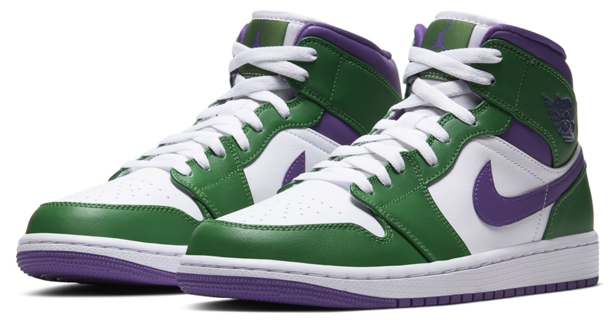 air jordan 1 aloe verde court purple