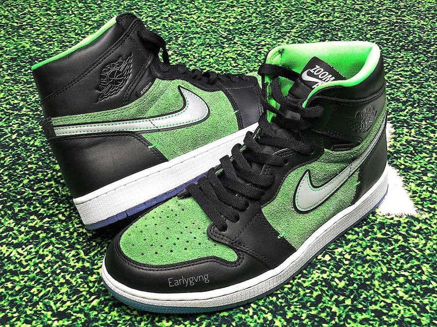The Air Jordan 1 High Zoom Rage Green Arrives Next Month