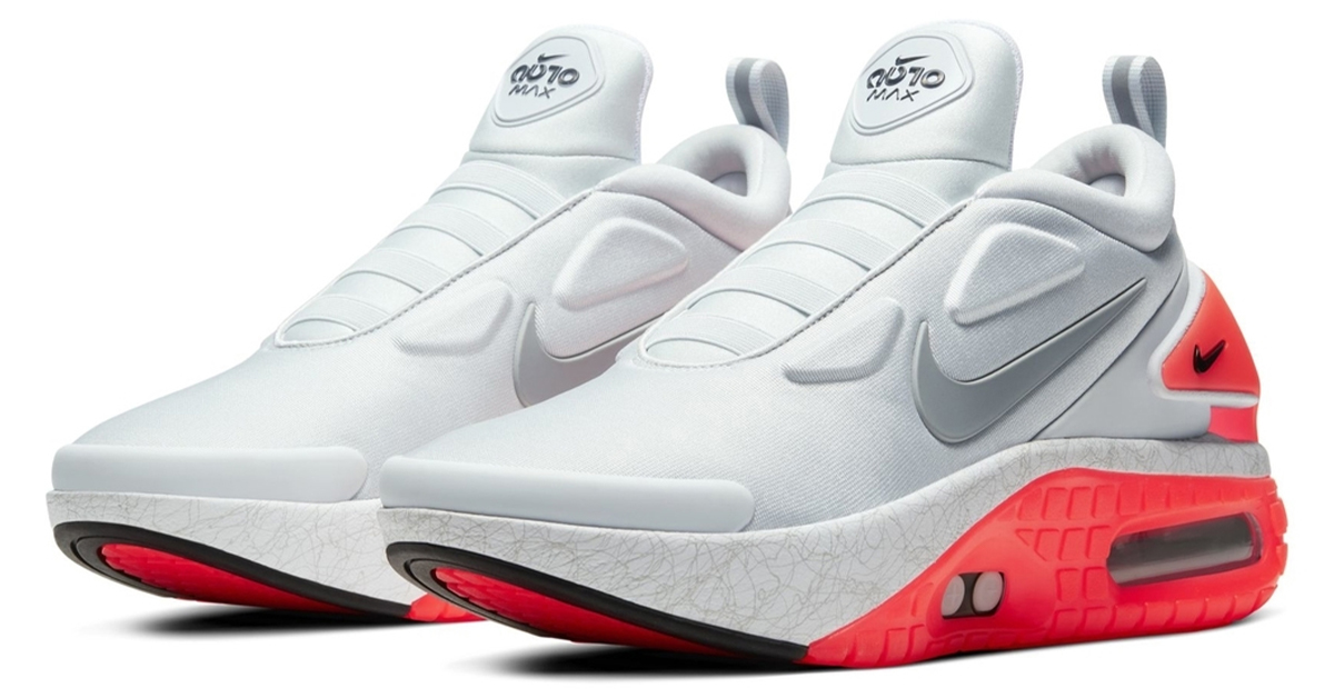 Nike Adapt Auto Max Arrives In Infrared Colorway