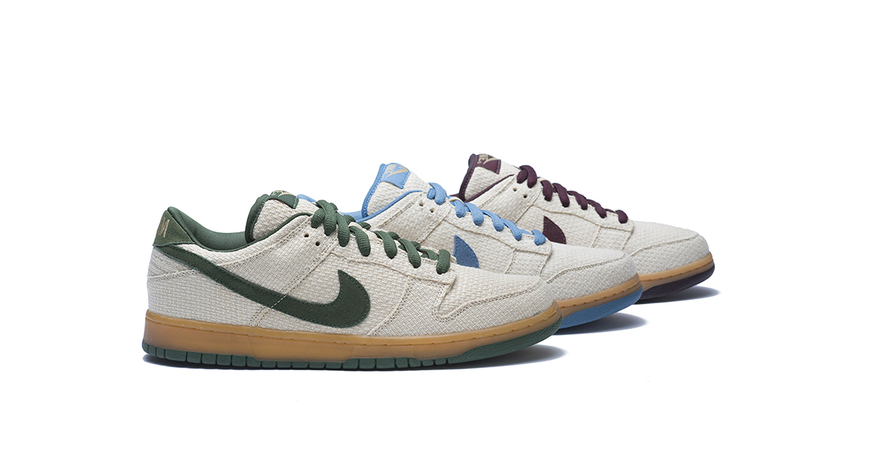 nike sb dunk low hemp pack
