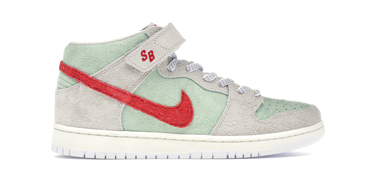 nike sb dunk mid white widow