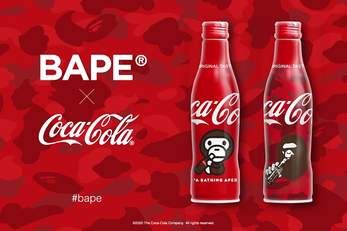 BAPE and Coca-Cola Releasing Special Edition Coke Bottles