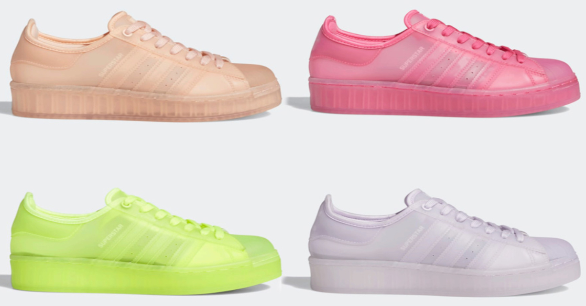 The adidas Superstar Gets Four New