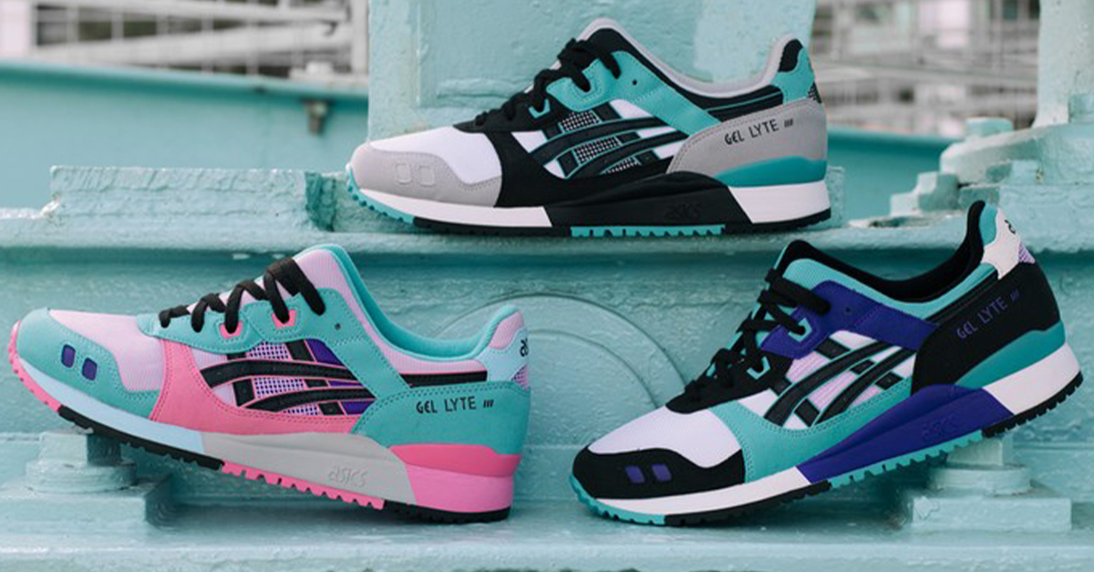 ASICS Celebrates the 30th Anniversary of the GEL-LYTE III