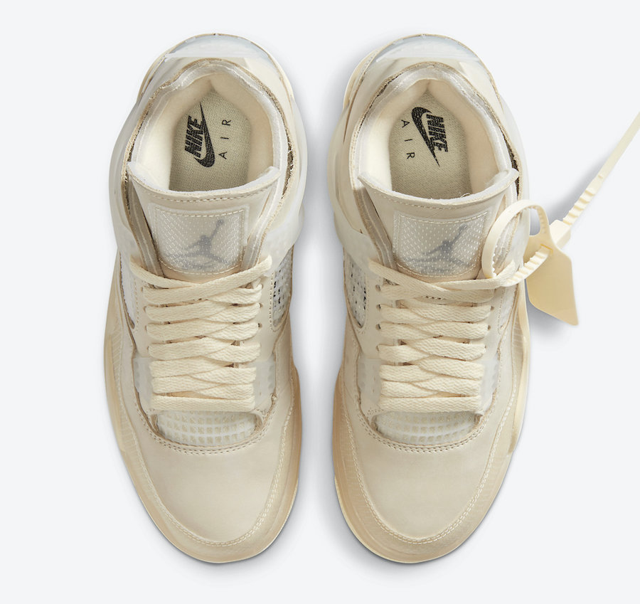 The WMNS Off\-White Jordan 4 Will Release in Men&\#8217;s Sizing