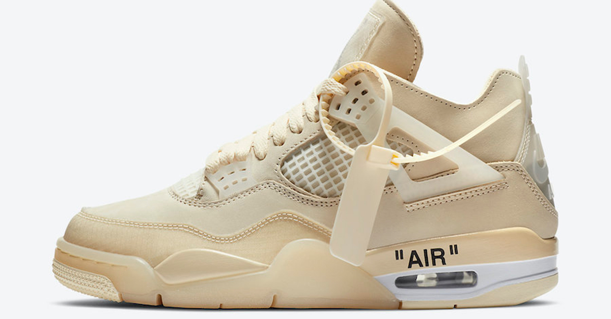 The WMNS Off-White Jordan 4 Will Release in Men's Sizing