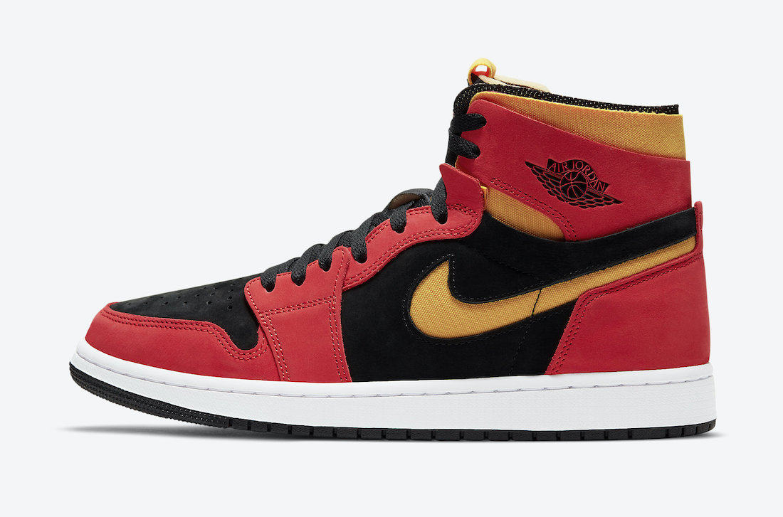 """Official Look at the Air Jordan 1 Zoom CMFT """"Chile Red"""""""