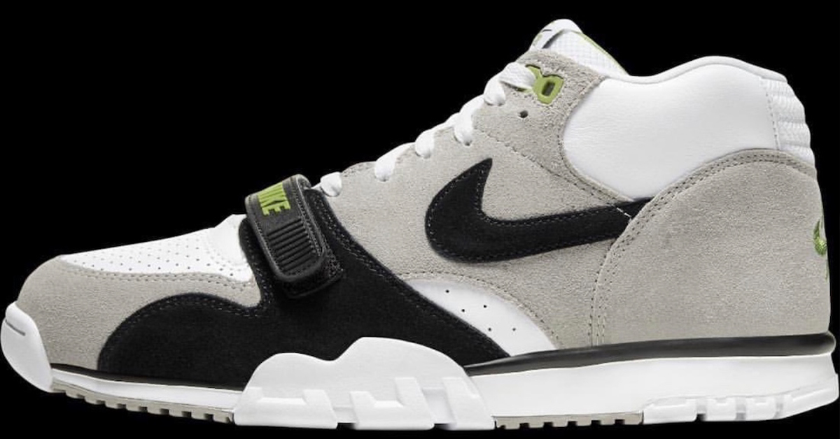 "Increíble cubierta Martin Luther King Junior  Nike SB Brings Back the Air Trainer 1 ""Chlorophyll"""