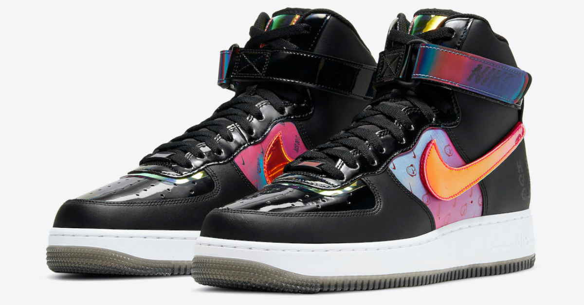 "Percepción infraestructura Gran roble  Nike Air Force 1 High Joins The ""Have A Good Game"" Lineup"