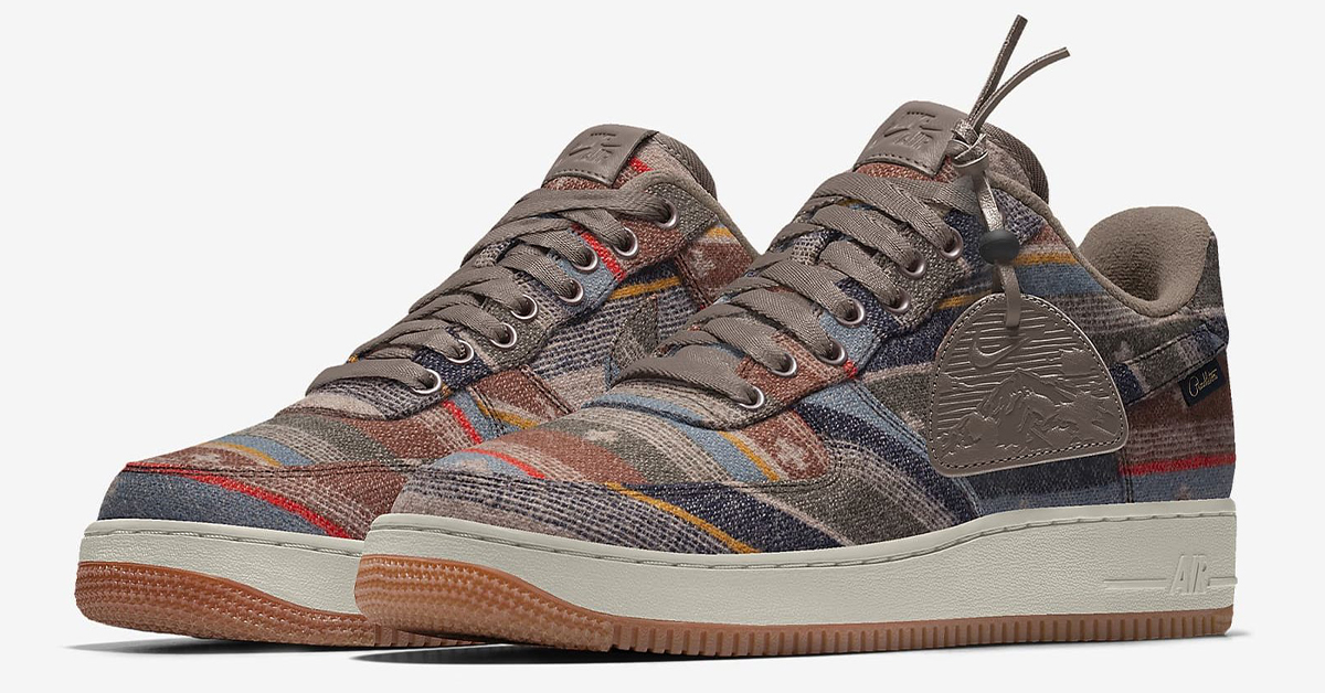 Helecho reflujo Arrepentimiento  Nike By You Offers Pendleton Air Force 1s and Air Max 97s