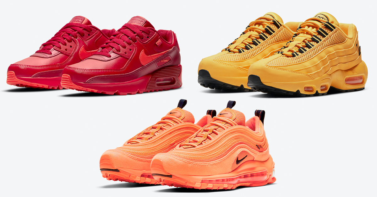 """Nike Air Max """"City Special"""" Pack Honors Chicago, NYC, and LA"""