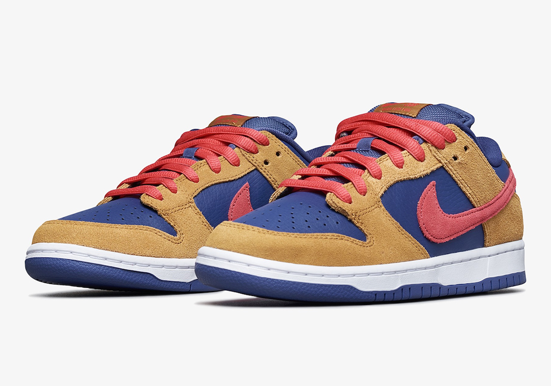"""Nike SB Dunk Low Dropping in """"Wheat and Purple"""""""