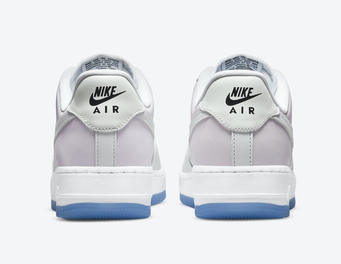 The Nike Air Force 1 UV Changes Color in the Sun