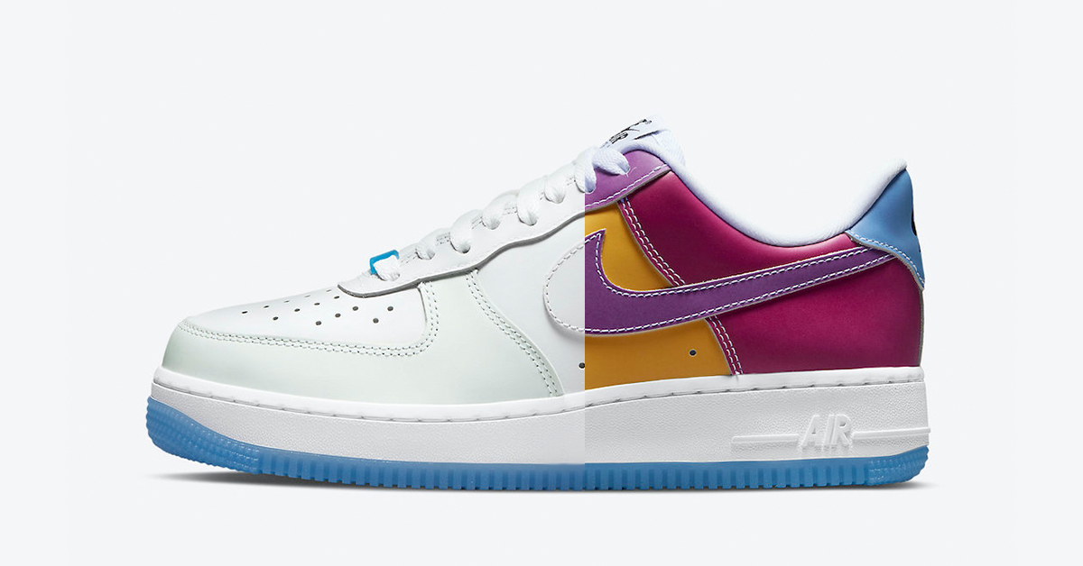 nike air force 1 sun uv featured color change release date