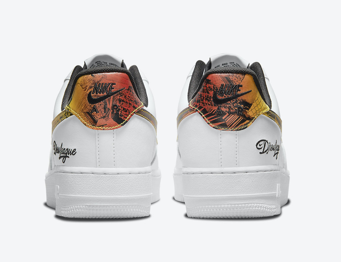 """First Look at 2021's """"Drew League"""" Nike Air Force 1"""