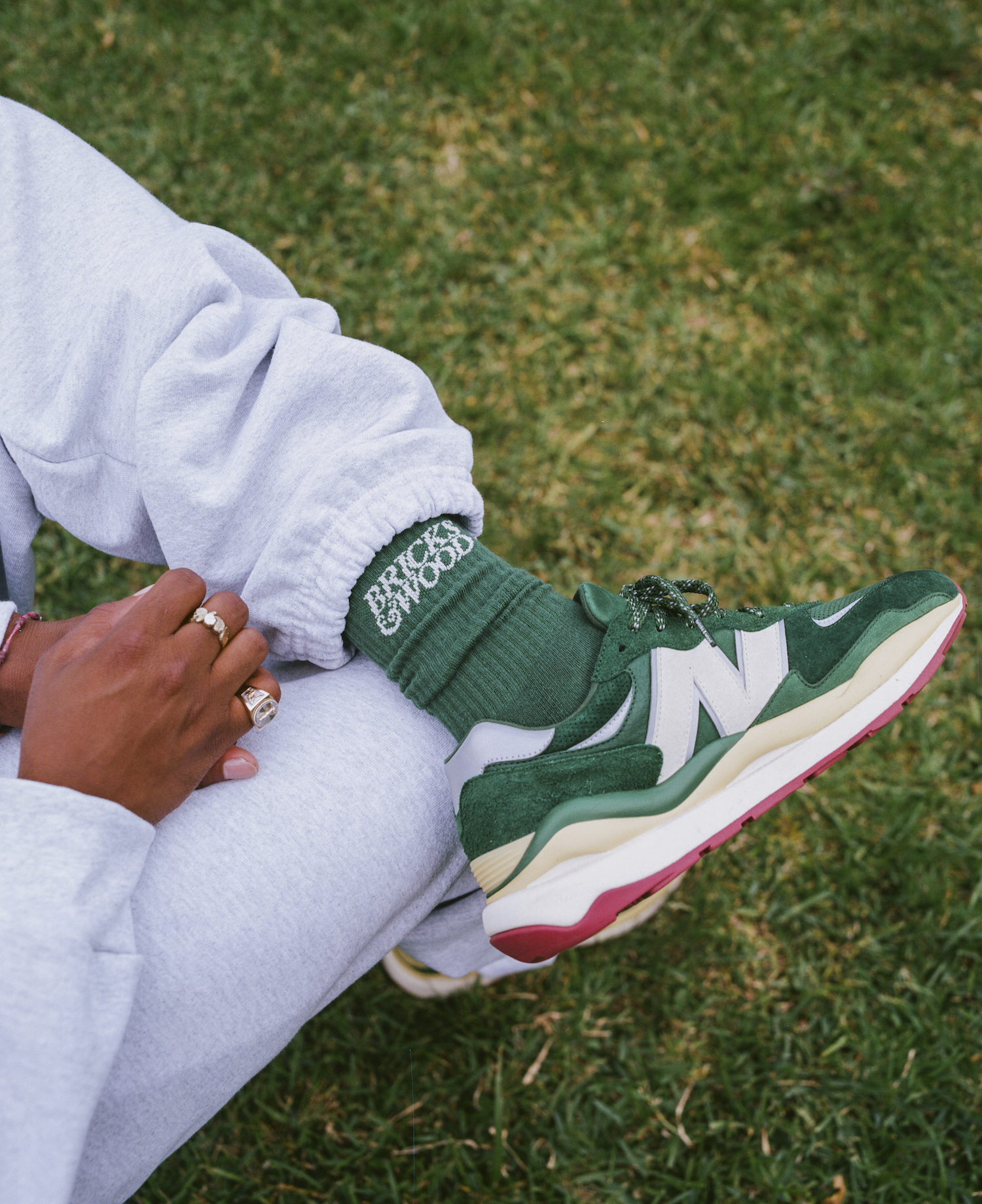 Bricks & Wood and New Balance Unveil Collab on the 57/40