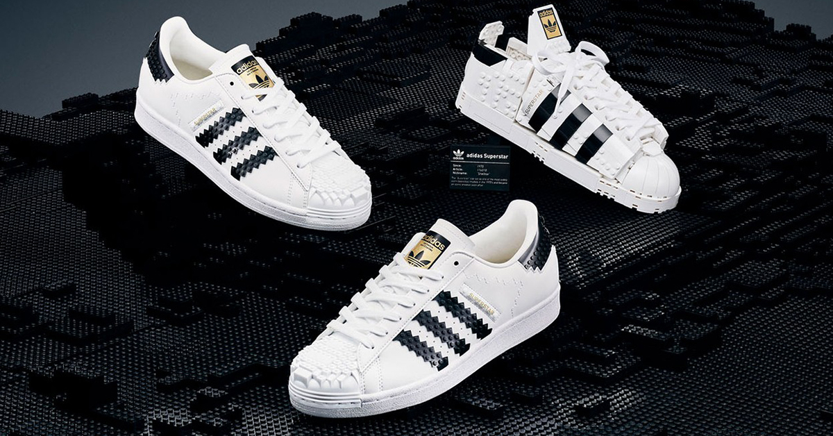 LEGO and adidas Team Up on Two Versions of the Superstar