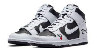 supreme nike sb dunk high by any means black DN3741 002 release date 324x160