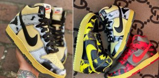 nike dunk high yellow black red acid wash dd9404 release date 324x160