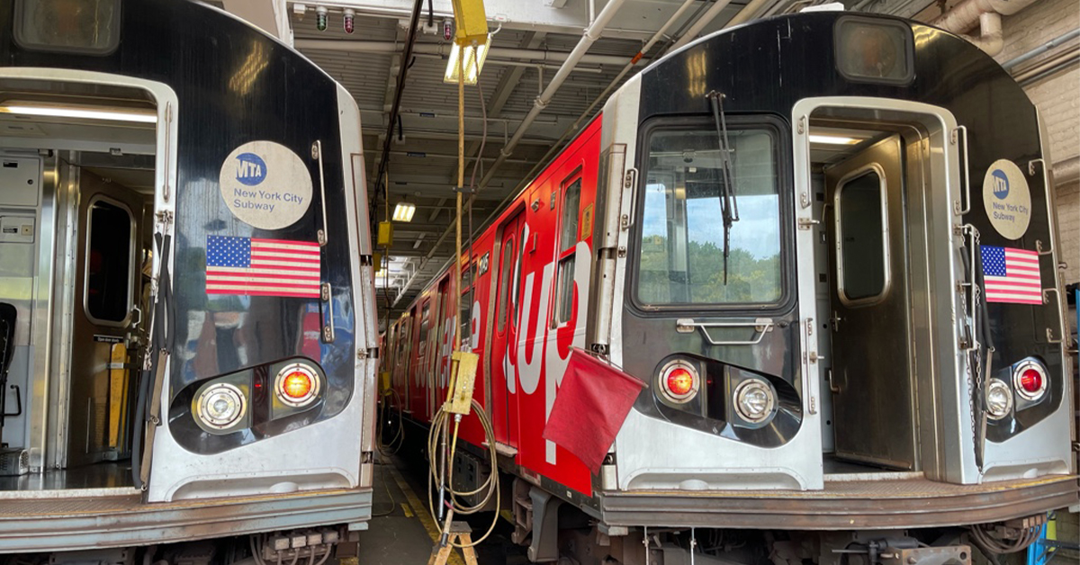 Supreme Reconnects With New York City's MTA For Fall 2021
